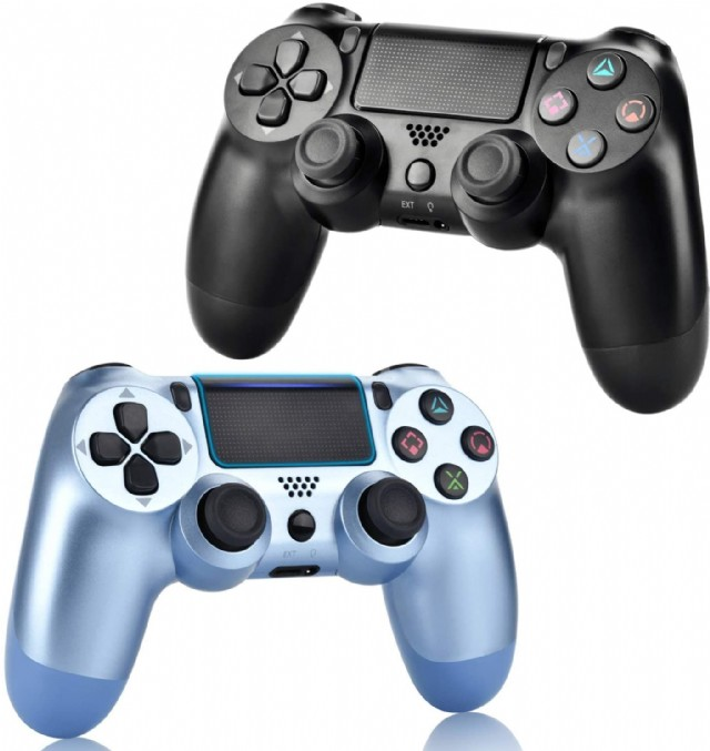 2 Pack Wireless Controllers For Ps4, Wireless Remotes Control For Ps4