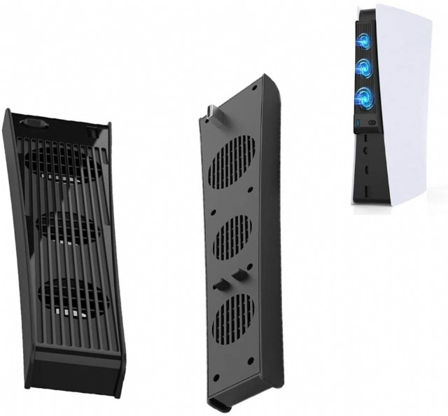 Console Cooling 3 Cooler Fans For Sony Playstation 5, Host Accessories