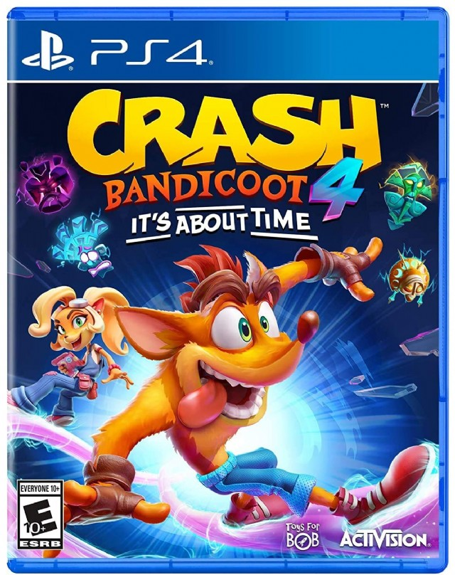Crash 4: It's About Time Playstation 4