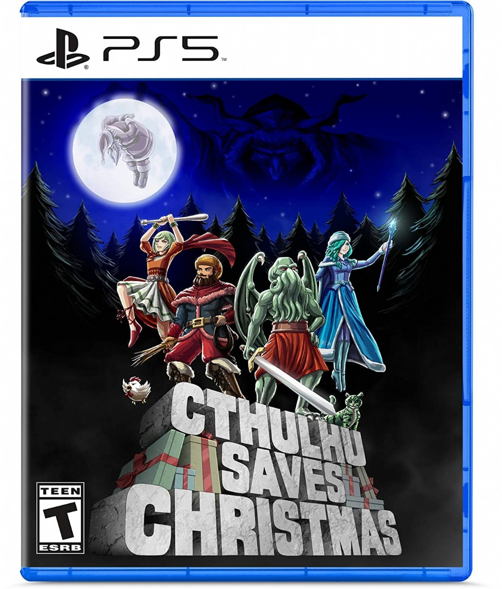 Cthulhu Saves Christmas - Playstation 5