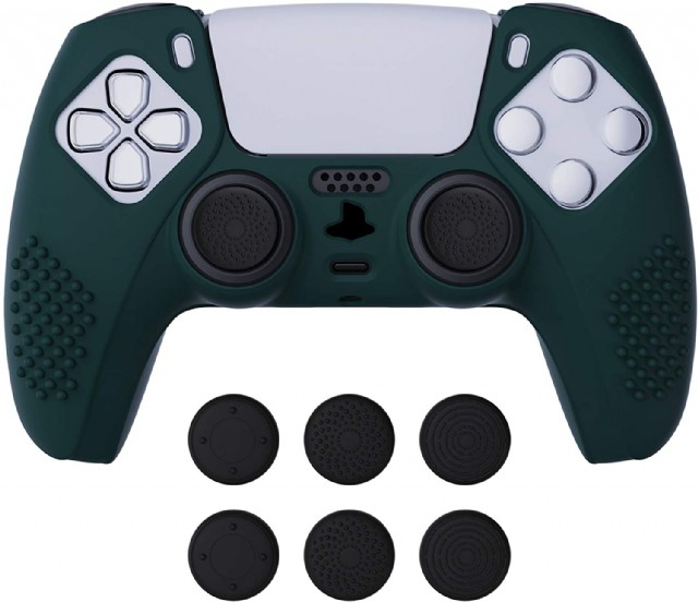 Extremerate Playvital Racing Green 3d Studded Anti-slip Silicone