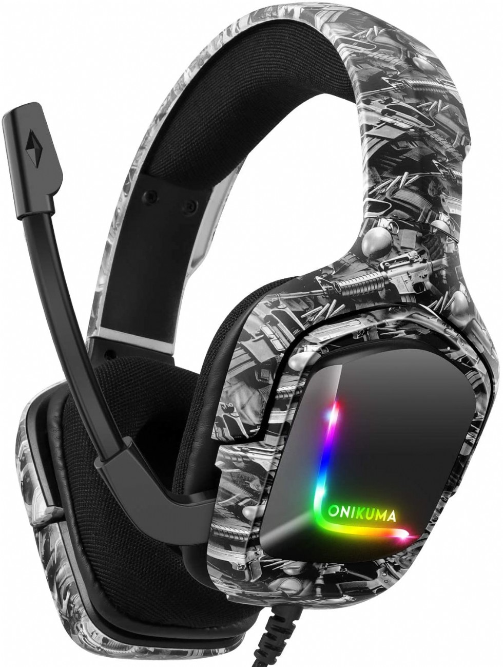 Gaming Headset For Ps4 Headsets With Mic, Stereo Surround Sound