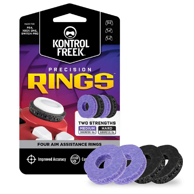 Kontrolfreek Precision Rings Aim Assist Motion Control For Ps5