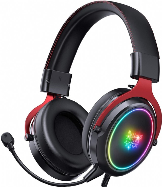 Onıkuma Gaming Headset Ps5 Headset Xbox One Headset, Noise Canceling