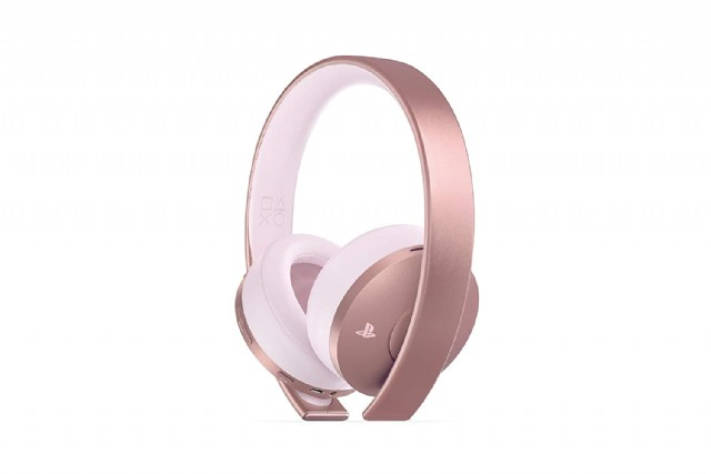 Playstation 4 Gold Wireless Headset Rose Gold
