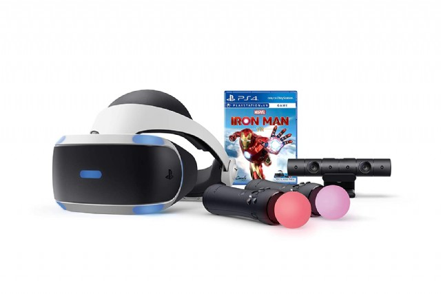 Playstation Vr - Marvel's Iron Man Bundle