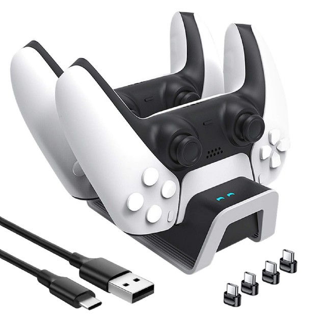 Ps5 Charging Station Dual Sense Controller Charger Ps5 Wireless Dualse