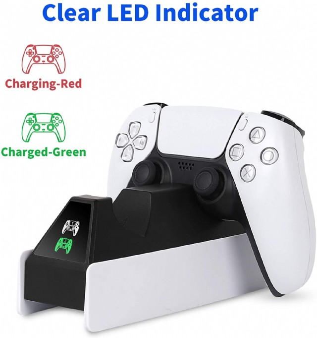 Ps5 Dualsense Charging Station, Samyoung Newest Ps5 Controller Charger