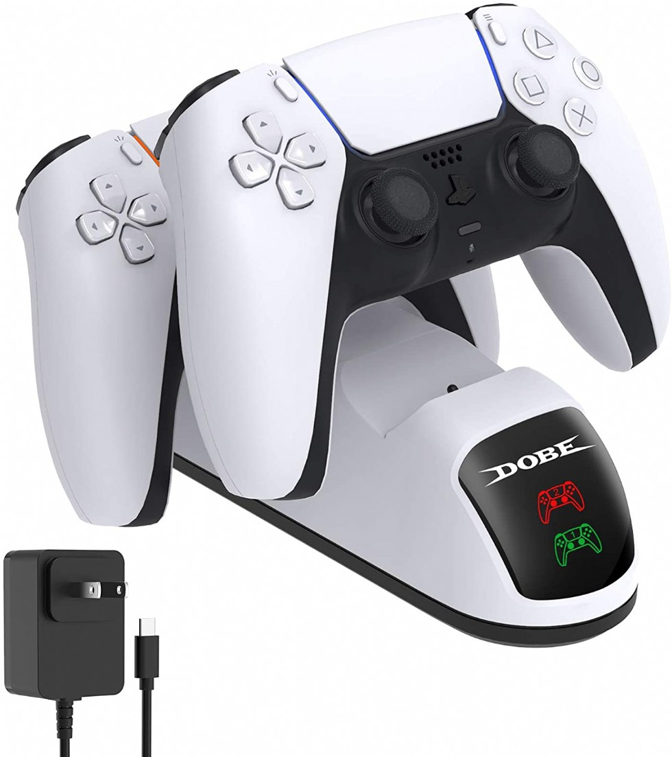 Ps5 Dualsense Controller Charger Station Dobe Charger Station