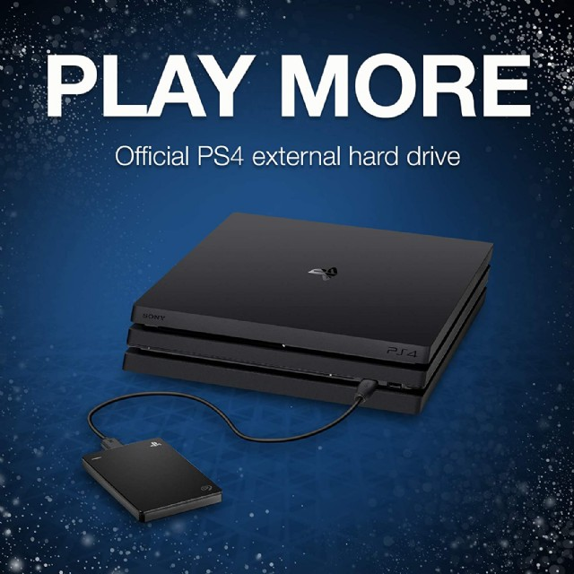 Seagate (stgd2000100) Game Drive For Ps4 Systems 2tb External Hdd