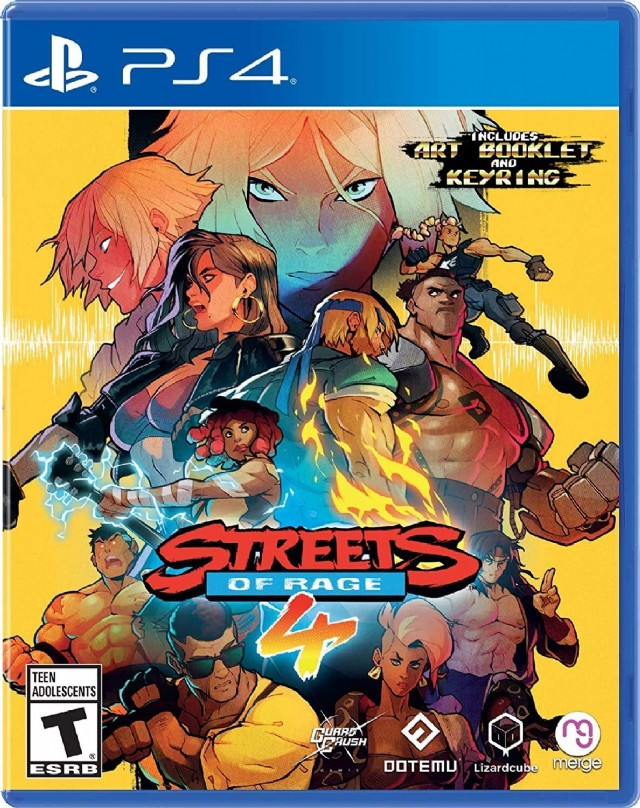 Streets Of Rage 4 - Playstation 4
