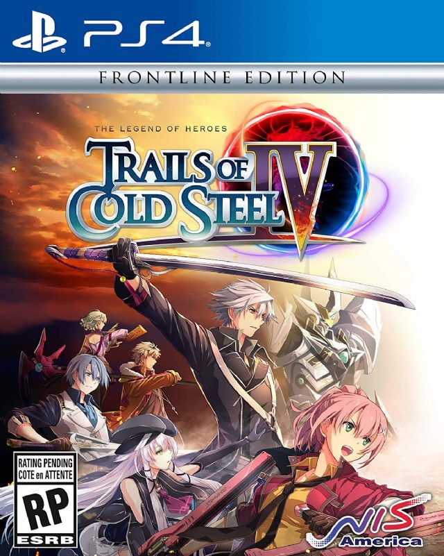 The Legend Of Heroes: Trails Of Cold Steel Iv - Frontline Edition Ps4