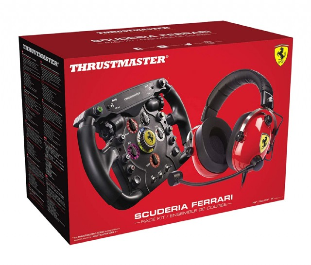 Thrustmaster Scuderıa Ferrarı F1 Bundle Ps4, Xbox Series X/s, One, Pc