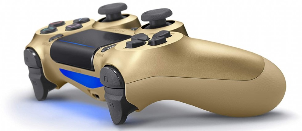 Kodu: 10370 - Dualshock®4 Wireless Controller For Ps4™ - Gold Accessory