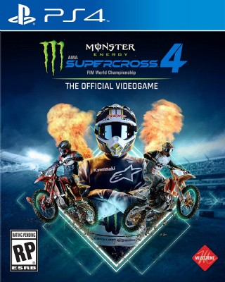 Deep Silver Monster Energy Supercross 4 - Playstation 4