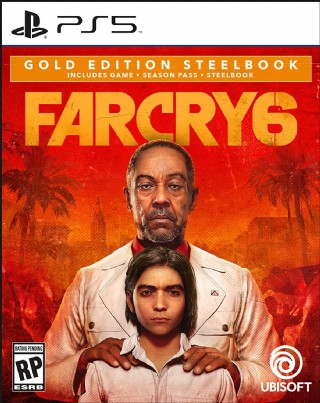 Far Cry 6 Playstation 5 Gold Steelbook Edition