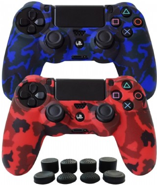 Hikfly Silicone Gel Controller Cover Skin Protector Compatible For Sony Playstation 4 Ps4