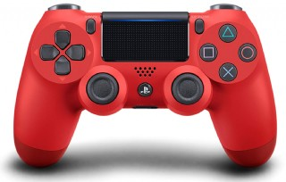 Magma Red Dualshock 4 Wireless Controller For Playstation 4