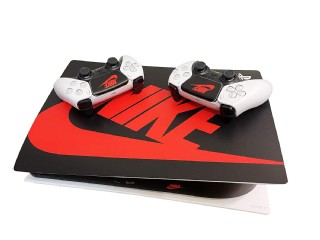 Ps5 Console And Controller Skin Nike Black Shoebox