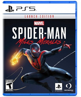 Spider-man: Miles Morales Launch Edition – Playstation 5 Game